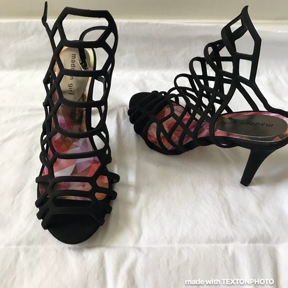 bdbb5196ff Steve Madden Shoes | Nwot Madden Girl Direct Caged Heel | Poshmark